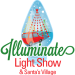 Illuminate Light Show & Santa's Village. We have a giveaway too!
