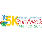 Autism Society Central Virginia Run/Walk  on May 23., 2015