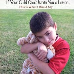 If They Could Write Us A Letter, Mother's Day Wishes
