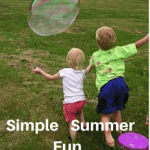 Ideas For Summer Fun with your Special Needs Child
