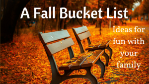 A Fall Bucket List