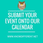 Submit Your Events!  We Want Them All!