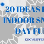 Activities To Keep You Busy During The Snow Days