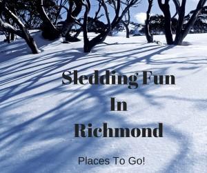 Sledding Fun In Richmond