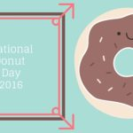 2016 National Donut Day- Friday June 3!