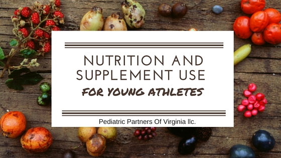 nutrition of young athletes