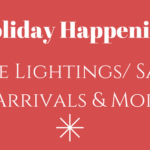 Holiday Tree Lightings & Santa Arrivals