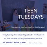 Teen Tuesdays & Cameron Gallagher Foundation