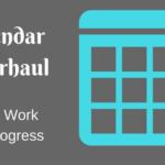 Community Calendar Update