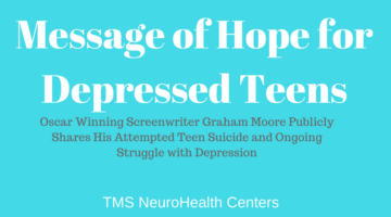 Message of Hope for Depressed Teens at 2015 Academy Awards