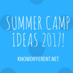 Summer Camp Ideas 2017