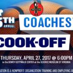5th Annual Coaches' Cook-Off benefiting The Positive Vibe Foundation
