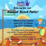 Jacob's Chance Beach Party
