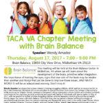 TACA VA Chapter: An Evening with Brain Balance