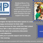 Medical Home Plus      IEP ADVISORY SERVICES