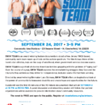 September 24th – Swim Team: Screening and Panel Discussion