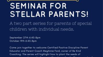 Seminar for Stellar Parents