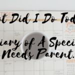 What Did I Do Today? Diary of A Special Needs Parent.