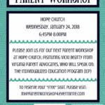 Free Parent Workshop: Individualized Education Program (IEP)