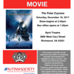 Sensory Friendly Movie at The Byrd Theater: Polar Express