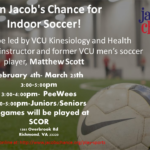 Jacob's Chance Indoor Soccer Begins February 4th
