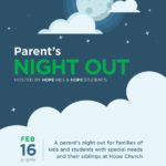 Parents Night Out Hosted By Hope Church