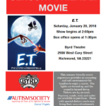 Sensory Friendly Movie at The Byrd: E.T.
