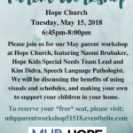 Medical Home Plus :Free Parent Workshop -Creating Visual Schedules