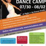 Inclusive Dance Camp at Rigby's Jig Dance Studio