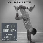 Village Dance Studios' Hip Hop for Boys Camp