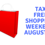 Tax Free Shopping in Virginia August 3-5