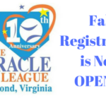 Fall Registration is Now OPEN for Miracle League