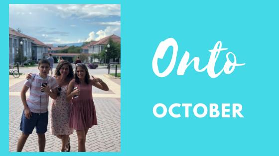 Onto October…