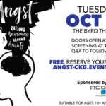 "Screening of the Documentary ""Angst: Raising Awareness Around Anxiety"" on October 16th"