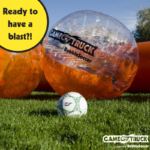 Have a BubbleSoccer Blast with GameTruck Richmond!