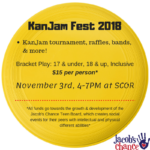 Jacob's Chance KanJam Fest 2018*CANCELLED*