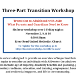 ASCV Hosts Transition to Adulthood with ASD: What Parents and Guardians Need to Know