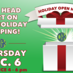CKG's Holiday Open House on December 6th