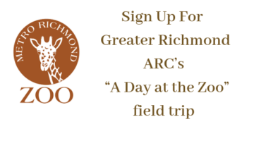 """Greater Richmond ARC's """"A Day at the Zoo"""" field trip"""