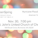 GreenSpring Hurricane Flooding Relief Benefit Concert