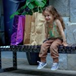 Managing a Child's Behavior While Shopping in Holiday Crowds
