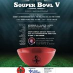 Max's Positive Vibe Cafe Souper Bowl 5 is Sunday November 11