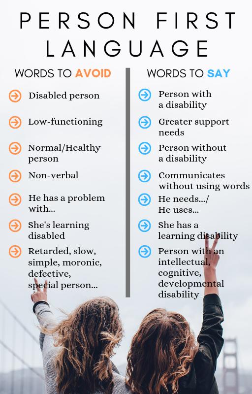 ¿Qué es People-First Language y cómo aplicarlo al diseño? Words to avoid and words to say