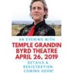 Save the Date: ASCV Presents An Evening with Temple Grandin