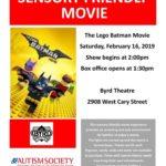 ASCV Sensory Friendly Movie: The Lego Batman Movie