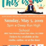 Miracle in Motion's THIS IS ME Annual Fundraising Performance on May 5th