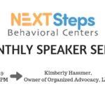 Next Steps Behavioral Centers Monthly Speaker Series: Kimberly Hassmer