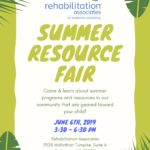 Summer Resource Fair June 6th