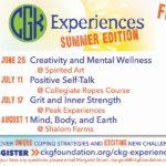 CKG Experiences: Summer Edition
