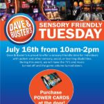 Dave & Buster's Hosts Sensory Friendly Tuesday on July 16th
